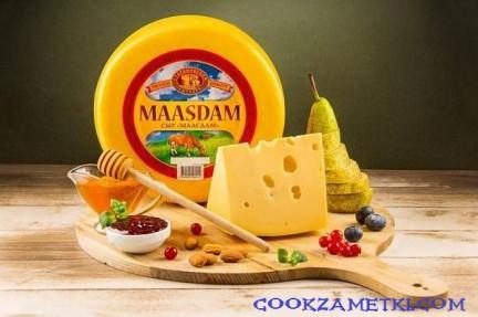 Рецепт сыра Маасдам.
