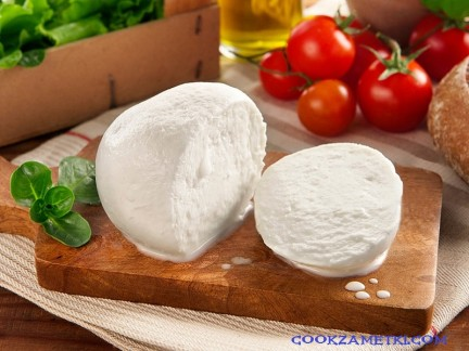 Рецепт сыра Моцарелла.