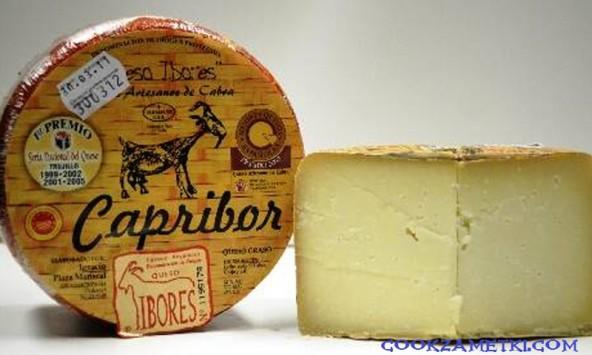 Рецепт Козий полутвердый сыр.
