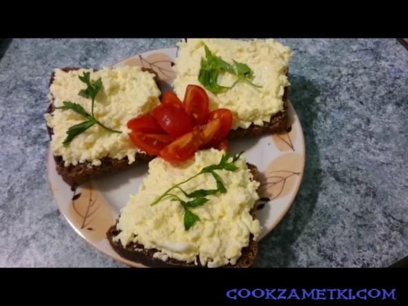 Еврейский салат с сыром.