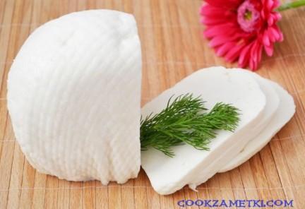 Рецепт сыра Брынза.
