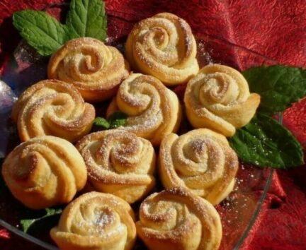 """Творожное печенье """"Розочки"""""""