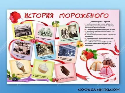 История мороженного.