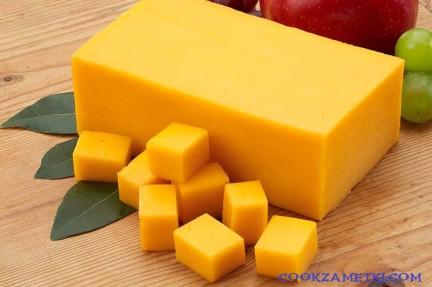 Рецепт сыра Чеддер.