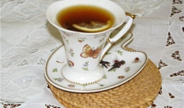 Фруктовый чай с медом