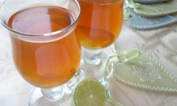 Имбирно-лаймовый чай
