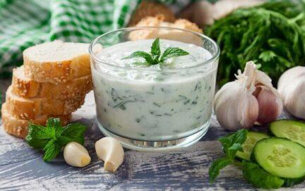 Дзадзыки греческий соус домашний