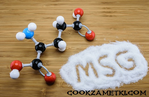 Molecular steucture of Monosodium glutamate (MSG)