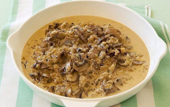Соус из грибного бульона