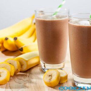 Шоколадно-банановый смузи.