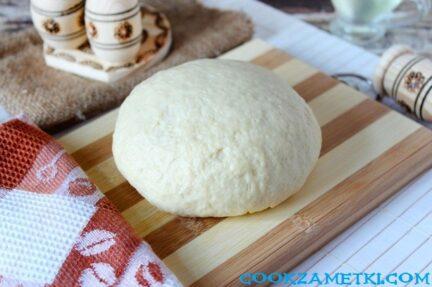 Тесто на кефире как пух без дрожжей.