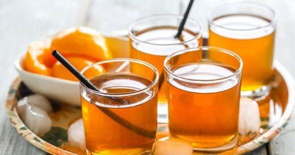 Ванильно-жасминовый холодный чай