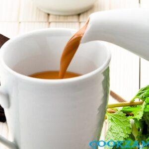Мятный шоколадный чай.