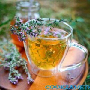 Чай с тимьяном.