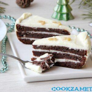 Черёмуховый торт классический.