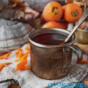 Морковный чай.