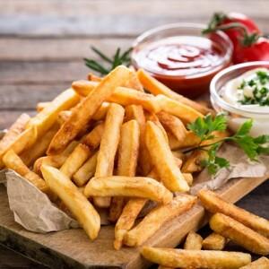 Как приготовить дома идеальный картофель фри.