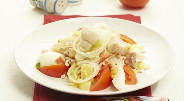Бретонский рыбный салат