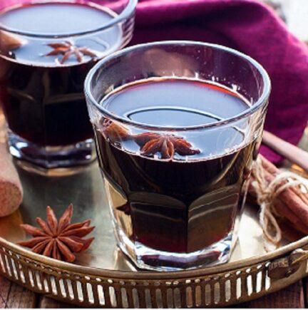 Глинтвейн с красным вином
