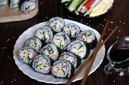 Кимбап по корейски