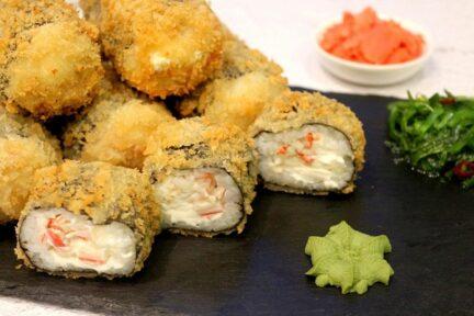 Ролл темпура в домашних условиях суши