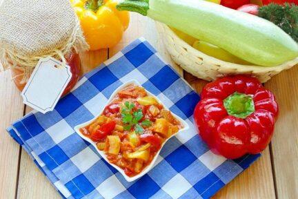 АНКЛ БЕНС с томатной пастой