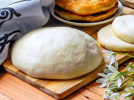 Тесто на беляши дрожжевое на сухих дрожжах