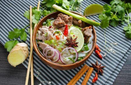 Классический вьетнамский суп ФО БО