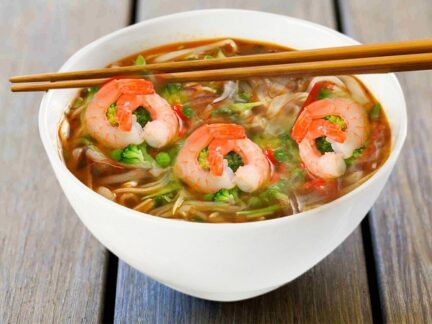 Суп Фо с креветками