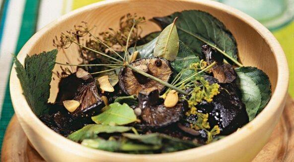 Засолка грибов. Холодный метод