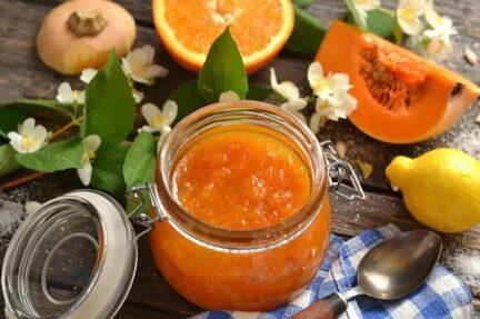 Варенье из тыквы с апельсином и лимоном на зиму