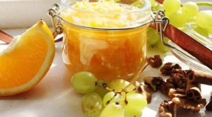Варенье из персиков с апельсином