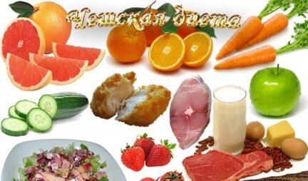 Чешская диета