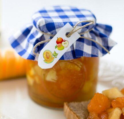 Варенье из дыни с яблоками на зиму