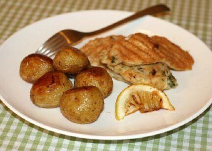 Рыба в кляре с картофелем