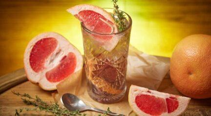 Фиалковый лимонад