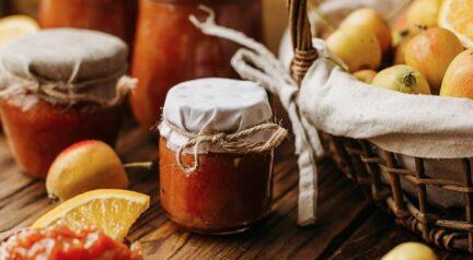 Яблочно-апельсиновый джем