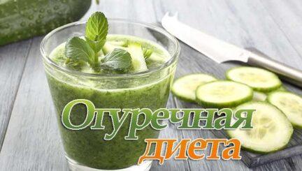 Огуречная диета для быстрого и эффективного похудения